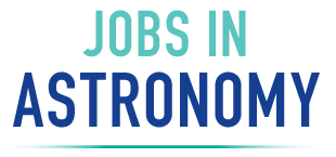 Jobs in Astronomy